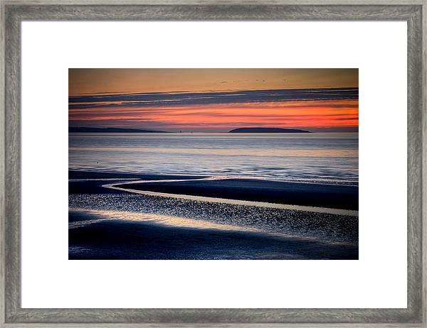 Menai Strait Framed Print