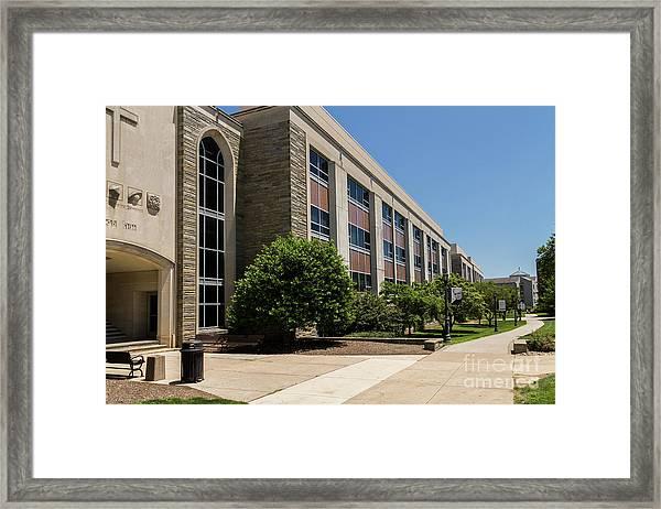 Mendel Hall Framed Print