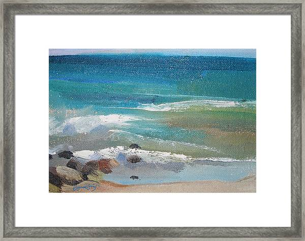Mendocino Coast-ocean View Framed Print