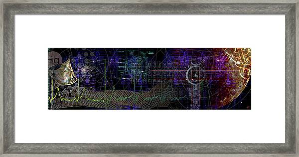 Mercury Rising Framed Print