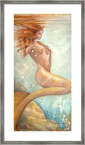 Mermaid Dream Framed Print