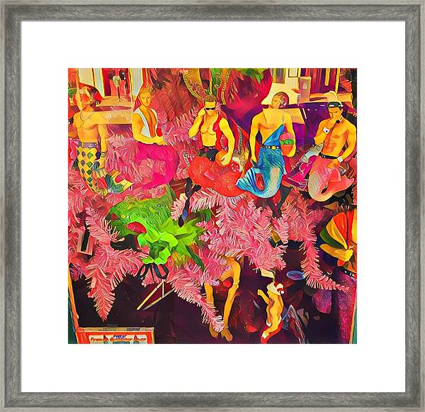 Mermen Framed Print