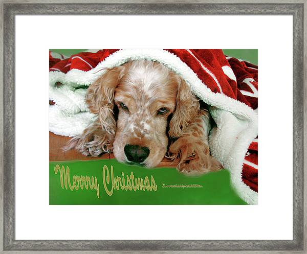 Merry Christmas Art 32 Framed Print