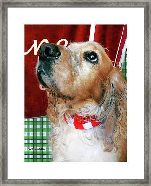Merry Christmas Art 33 Framed Print
