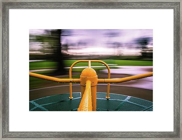 Merry Go Round Framed Print