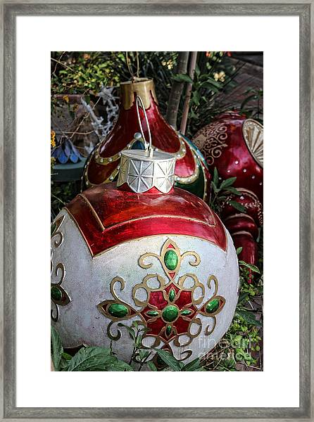 Merry Joyful Christmas Framed Print