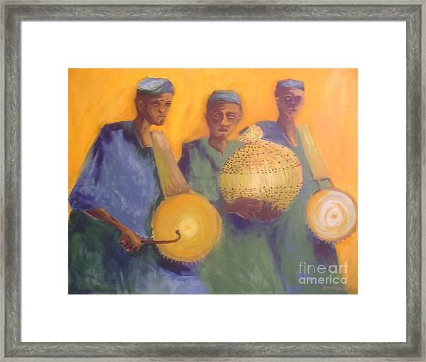 Merry Makers Framed Print by Joe Ibenegbu Azunna