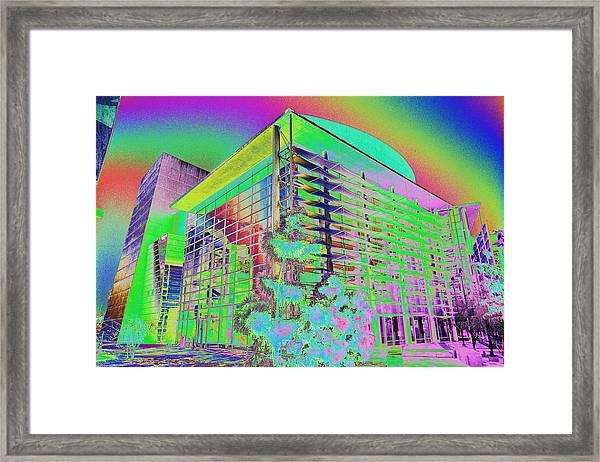 Mesa Art Center Framed Print