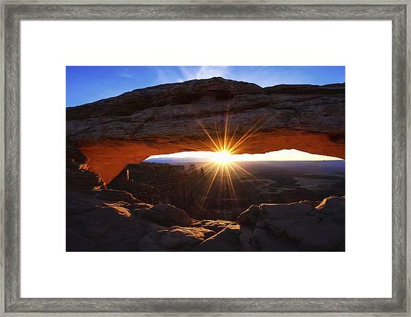 Mesa Sunrise Framed Print