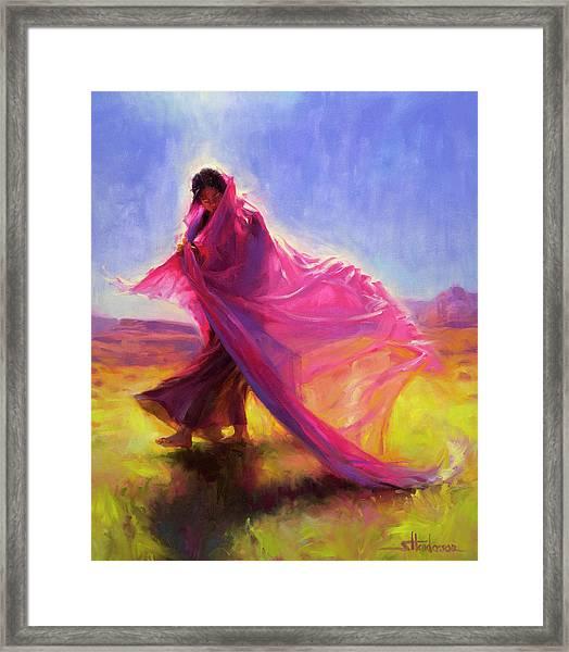 Mesa Walk Framed Print
