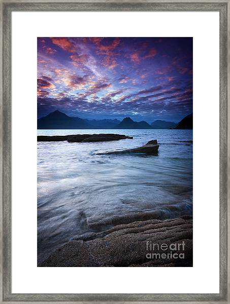 Mesmerized By The Cuillin Framed Print