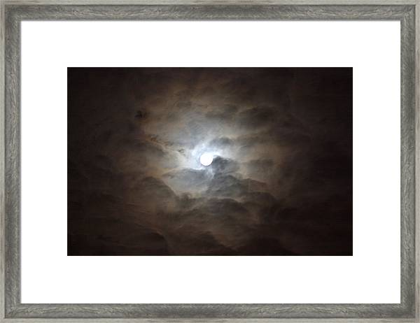 Messianic Moon Framed Print