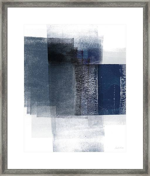 Mestro 2- Abstract Art By Linda Woods Framed Print
