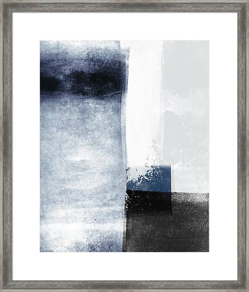Mestro 3- Abstract Art By Linda Woods Framed Print