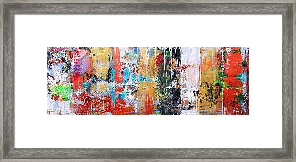 Metallic Winter Framed Print