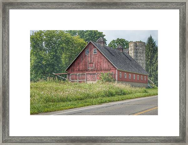 0029 - Metamora Red I Framed Print