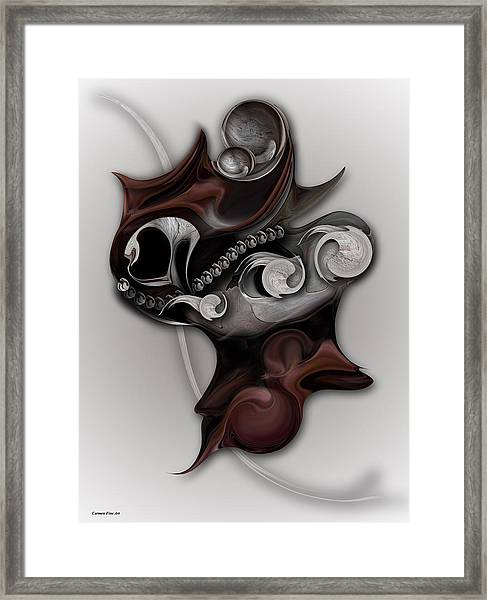 Metaphysical Feeling Framed Print