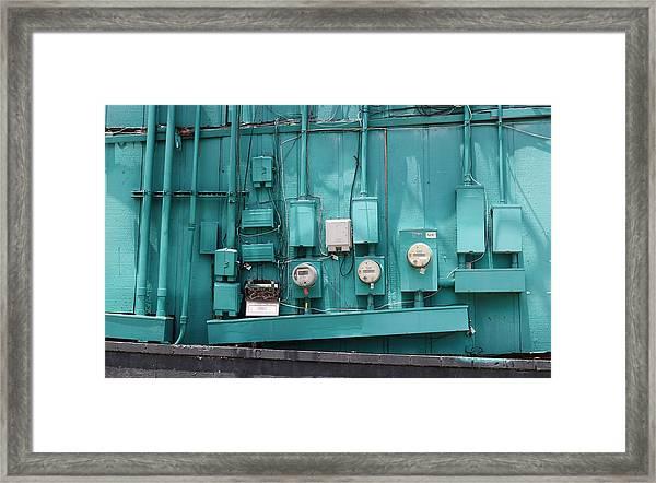 Meter Reader Framed Print