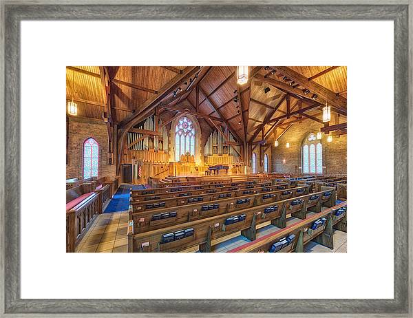 The Sanctuary  Framed Print