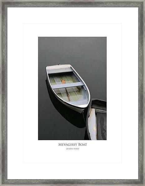 Mevagissy Boat Framed Print