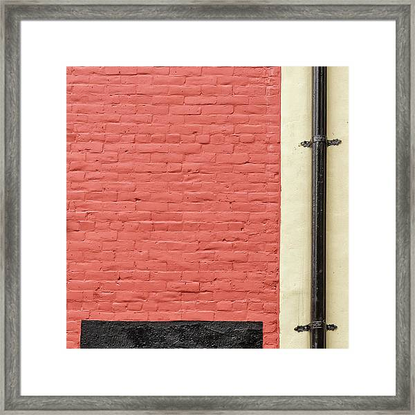 Framed Print featuring the photograph Mews Spout by Eric Lake