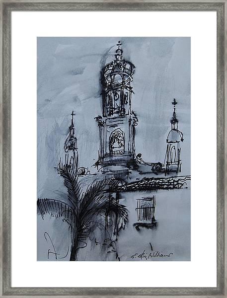 Mexican Church Framed Print