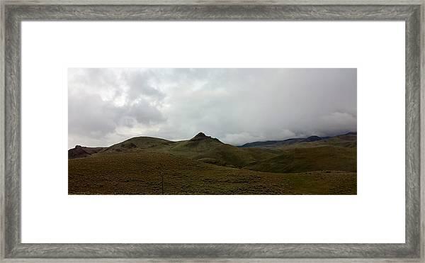 Mexican Landscape Framed Print