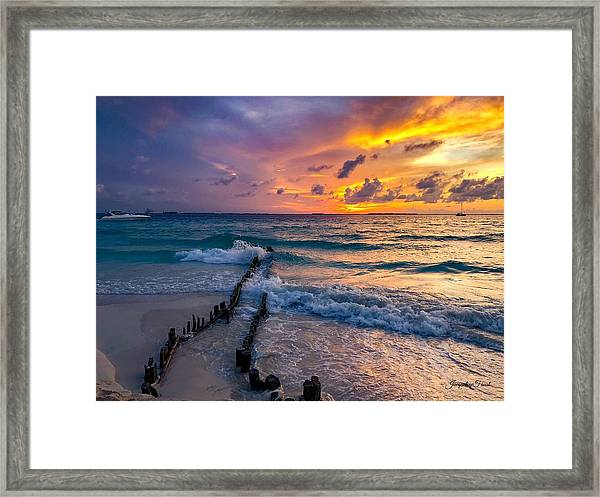 Mexican Sunset Framed Print