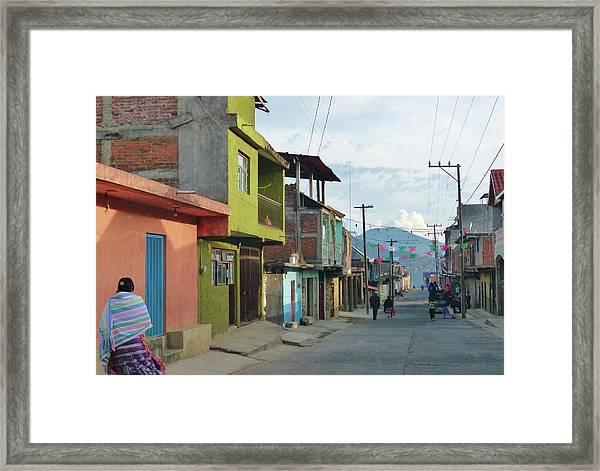 A Town Near Parocho Framed Print
