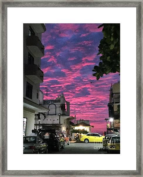 Mexico Memories 1 Framed Print