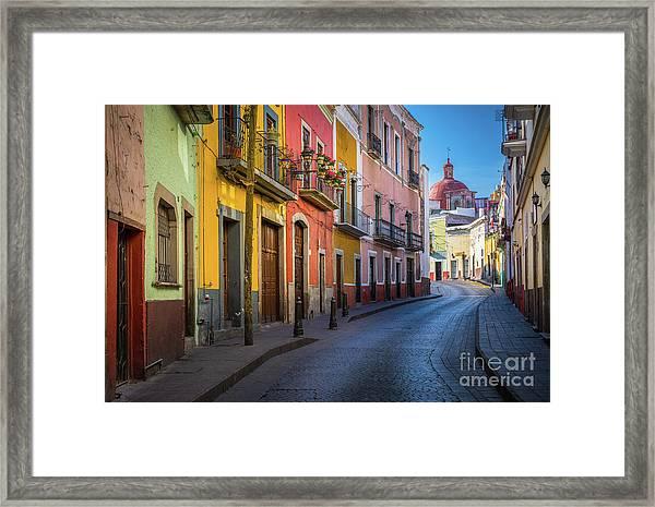 Mexico Street Framed Print