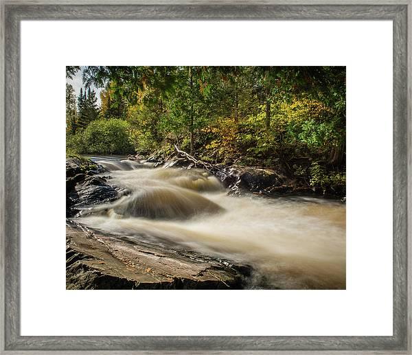 Meximine Falls Framed Print