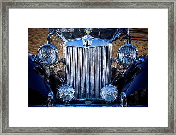 Mg Cars 003 Framed Print