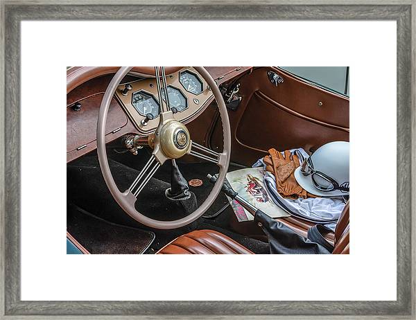 Mg Interior Framed Print