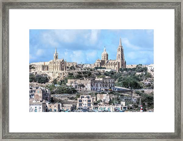 Mgarr - Gozo Framed Print