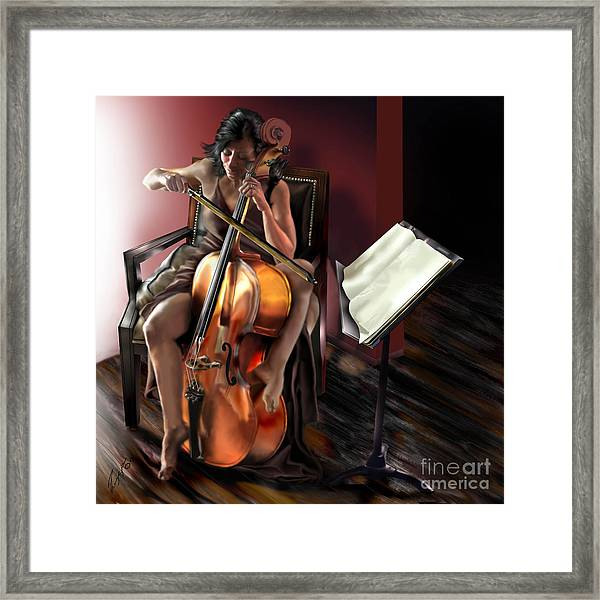 Mi Chica - Solace In The Unseen Framed Print