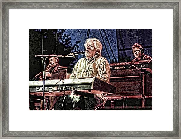 Michael Mcdonald And Band Framed Print