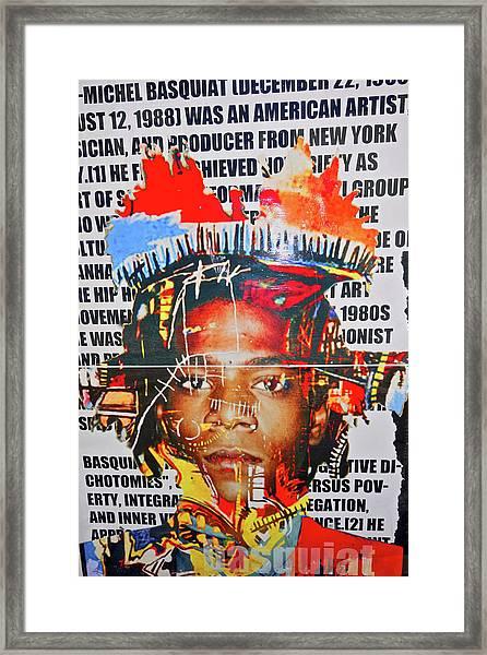 Michel Basquiat Framed Print