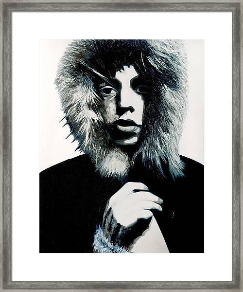 Mick Jagger - Rolling Stones Framed Print