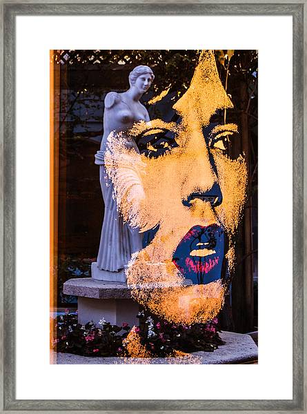Mick Reflecting Framed Print