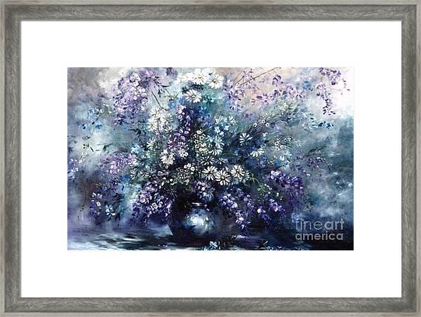 Mid Spring Blooms Framed Print