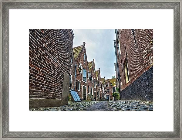 Middelburg Alley Framed Print