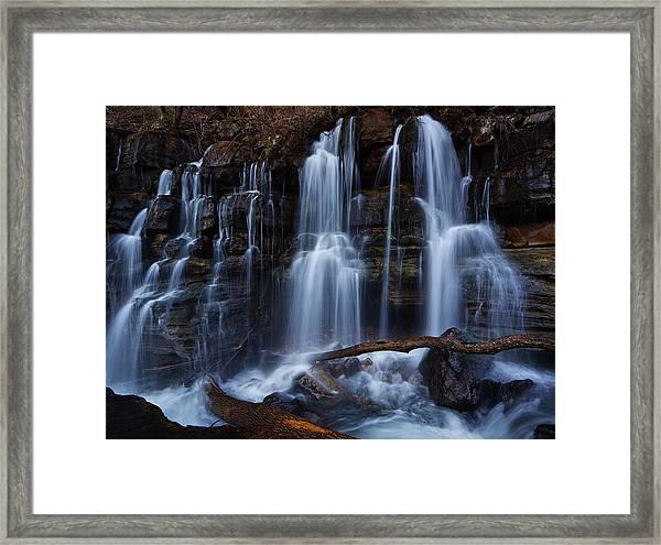 Middle Creek Falls Framed Print