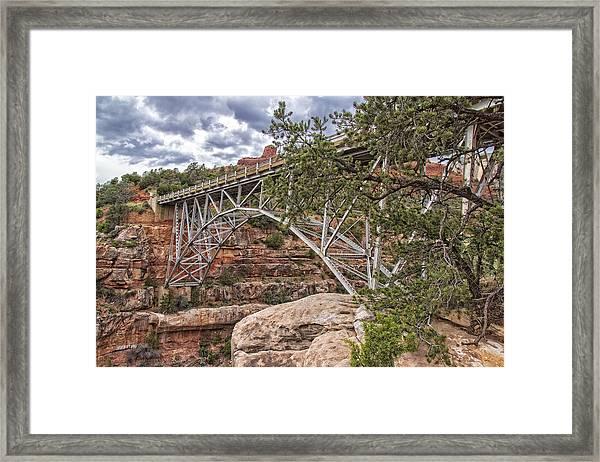 Midgley Bridge 1 Framed Print