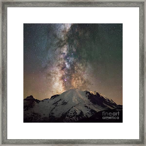 Midnight Hike  Framed Print