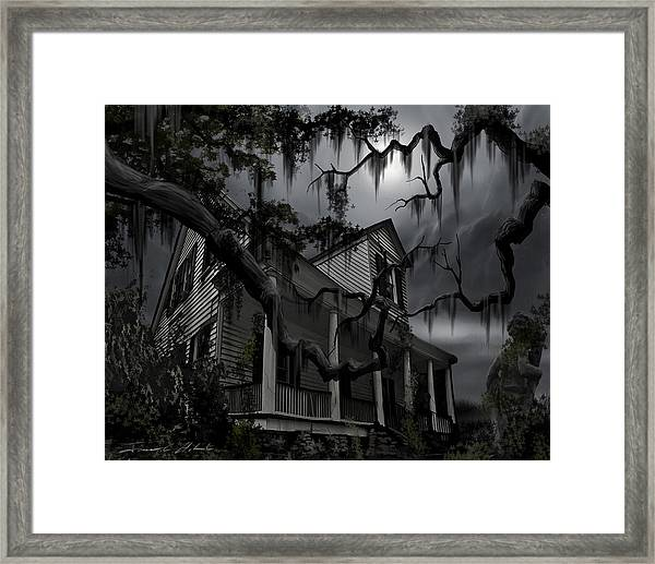 Midnight In The House Framed Print