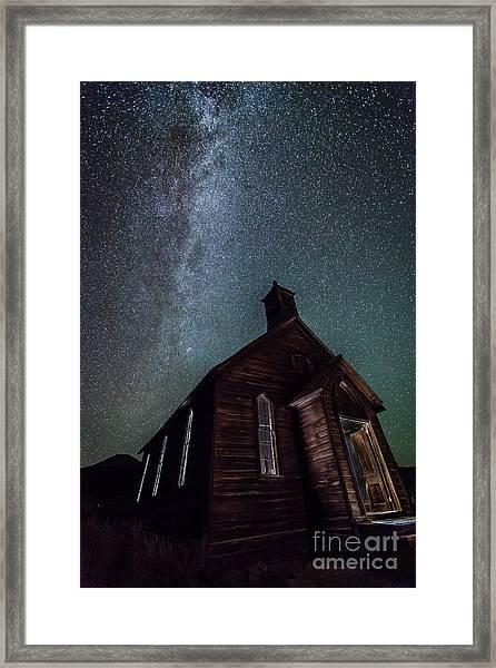 Midnight Mass  Framed Print