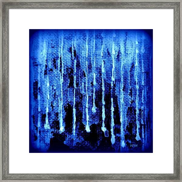Midnight Rain Framed Print