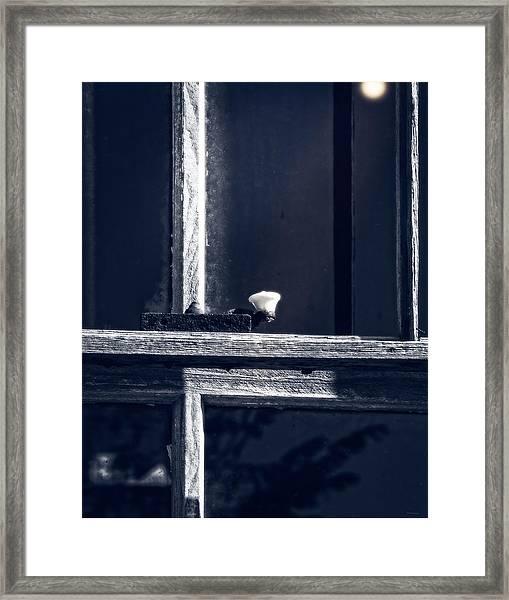 Midnight Window Framed Print