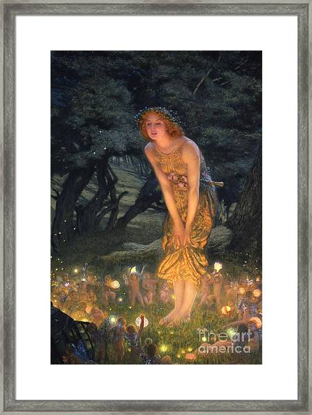 Midsummer Eve Framed Print